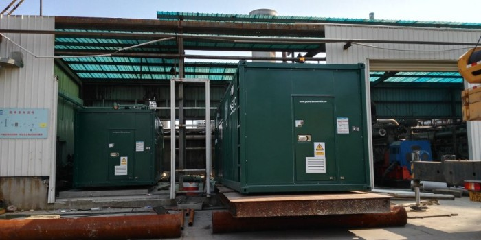 Biogas to power solution