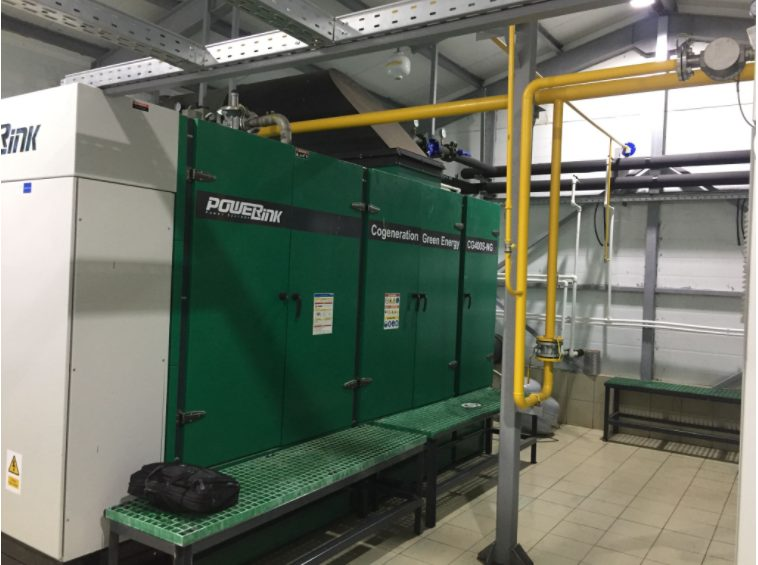 Natural Gas Cogeneration Solution In Russian Hotel