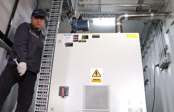 Biogas Genset equipment inspect