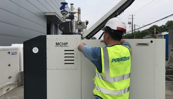 PowerLink MCHP-Gas Cogeneration 10kw, 20kw,30kw,