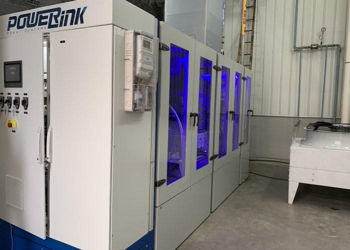 Natural-Gas-Cogeneration unit box