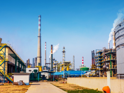 Natural gas pipeline factory