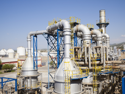 Natural gas pipeline factory application outdoor