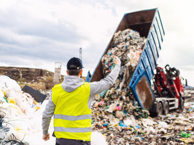 waste to energy landfill site